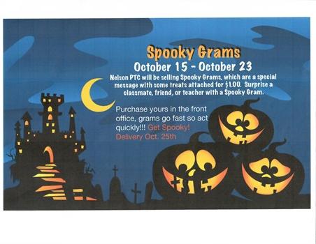 Spooky Grams Flyer