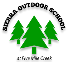 SOS logo with trees