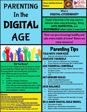 Parenting tips for Digital Citizenship