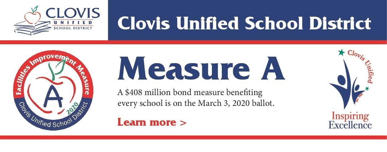 2020 Bond Measure banner